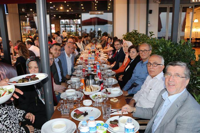 İMES OSB Yönetimi, Bölge Müdürlüğü Çalışanları ile İftar Yemeğinde Buluştu