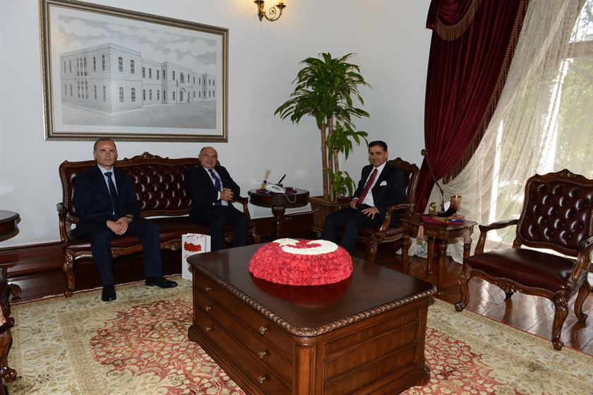 Ankara Valimiz Ercan TOPACI'yı Makamında Ziyaret