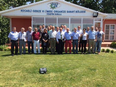 İMES OSB'de İş Birliği ve Koordinasyon Toplantıları