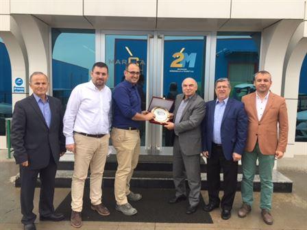Realplas Otomotiv, Mercan Panel, Solvalve, 2M Marca Makine, Demir Makine Firmalarına Ziyaret