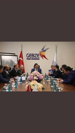 İMES OSB Yönetim Kurulundan Gebze Teknik Üniversitesi'ne Ziyaret