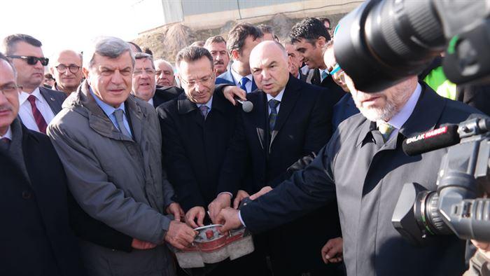 Kocaeli Büyükşehir Belediyesinden İMES OSB Camimize Büyük Bağış