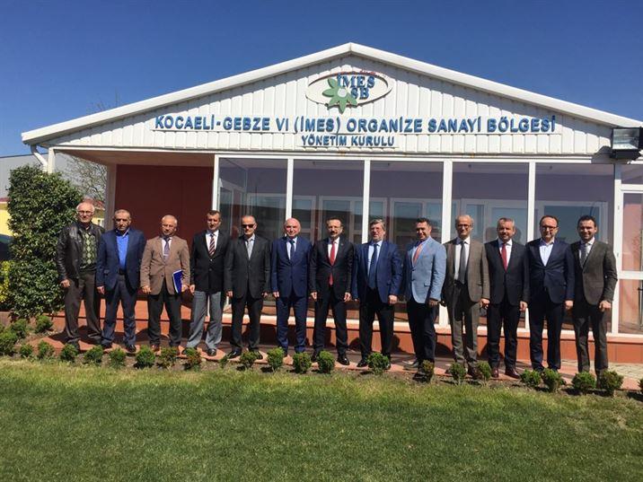 Kocaeli Valisi Başkanlığında Müteşebbis Heyet Toplantısı