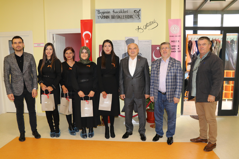 İMES OSB Sercan Sağlam Anaokulumuz'da Öğretmenler Günü'nü Kutladık