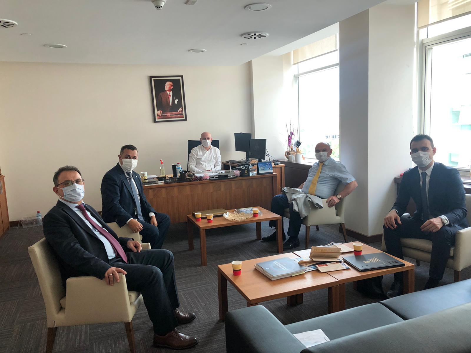 Yönetim Kurulu Başkanımız ve üyelerimiz, Savunma Sanayi Başkanlığı Sanayileşme Dairesini ziyaret ettiler.