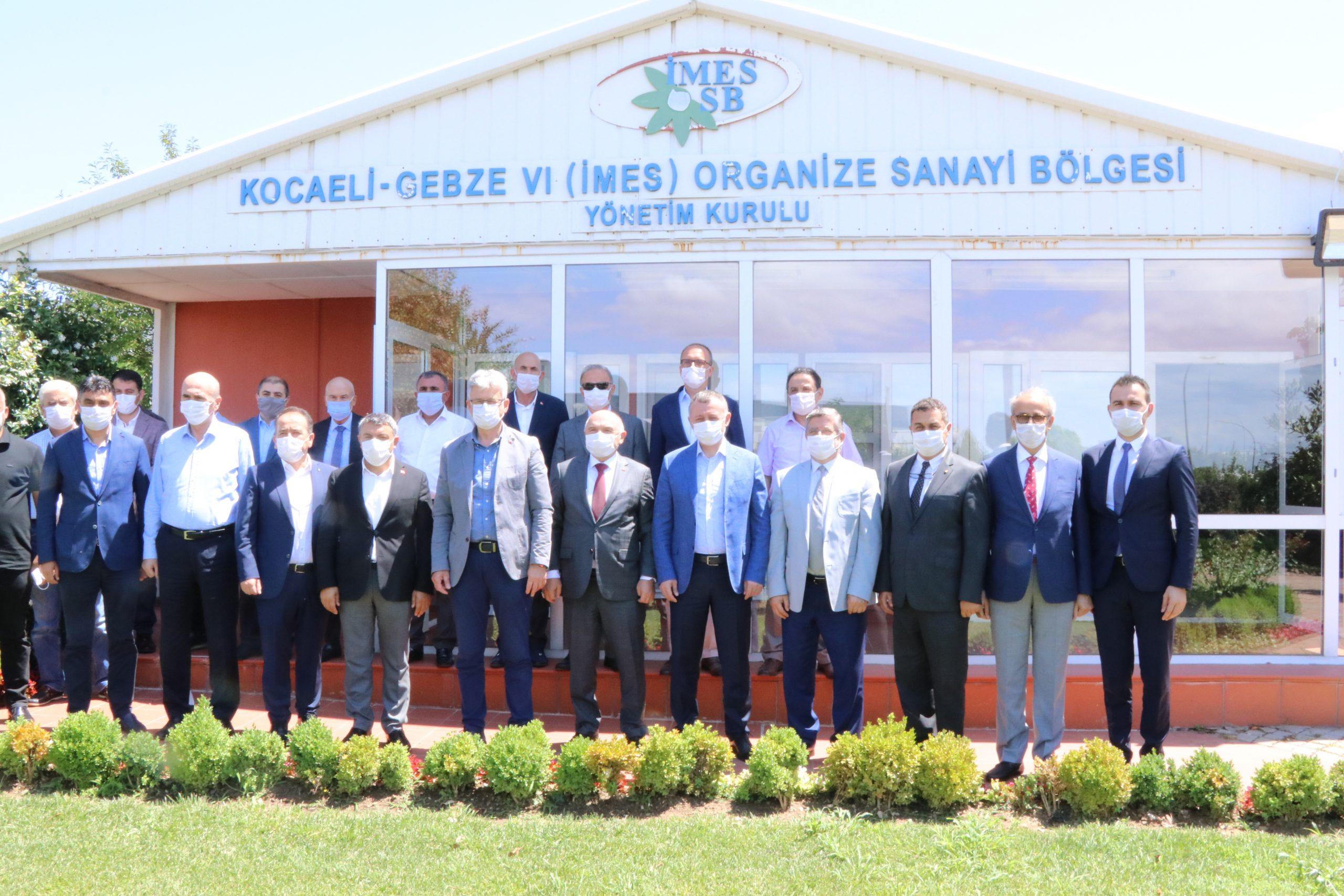 Kocaeli Büyükşehir Belediye Başkanı Tahir BÜYÜKAKIN'dan İMES OSB'ye Ziyaret