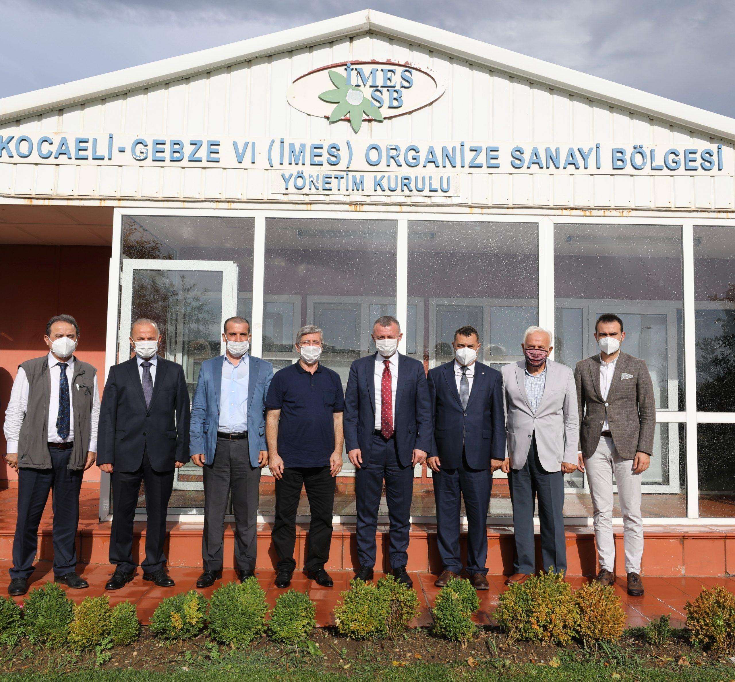 Başkan Büyükakın'dan İMES OSB'ye Taziye Ziyareti