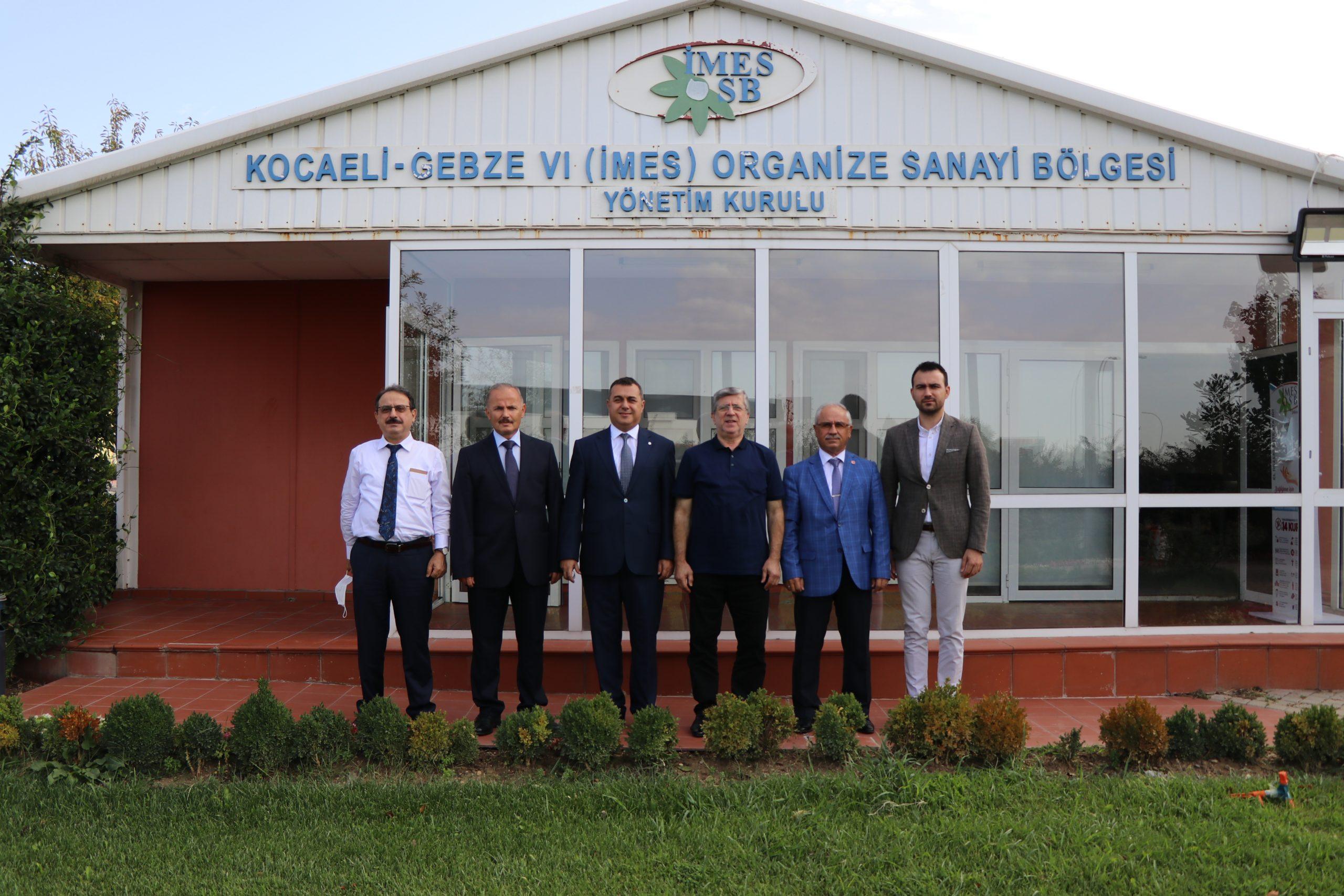 İMES OSB Dilovası Yönetim Kurulu Başkanı; Ahmet TOKKAN Oldu!