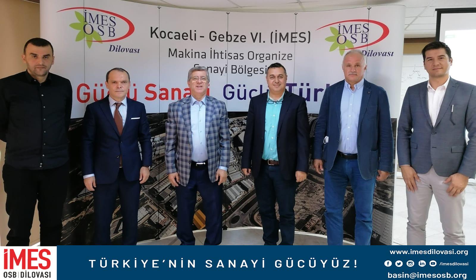 Marmara OSB Yönetim Kurulu Başkanı Saadettin ÇAY'dan İMES'e Ziyaret