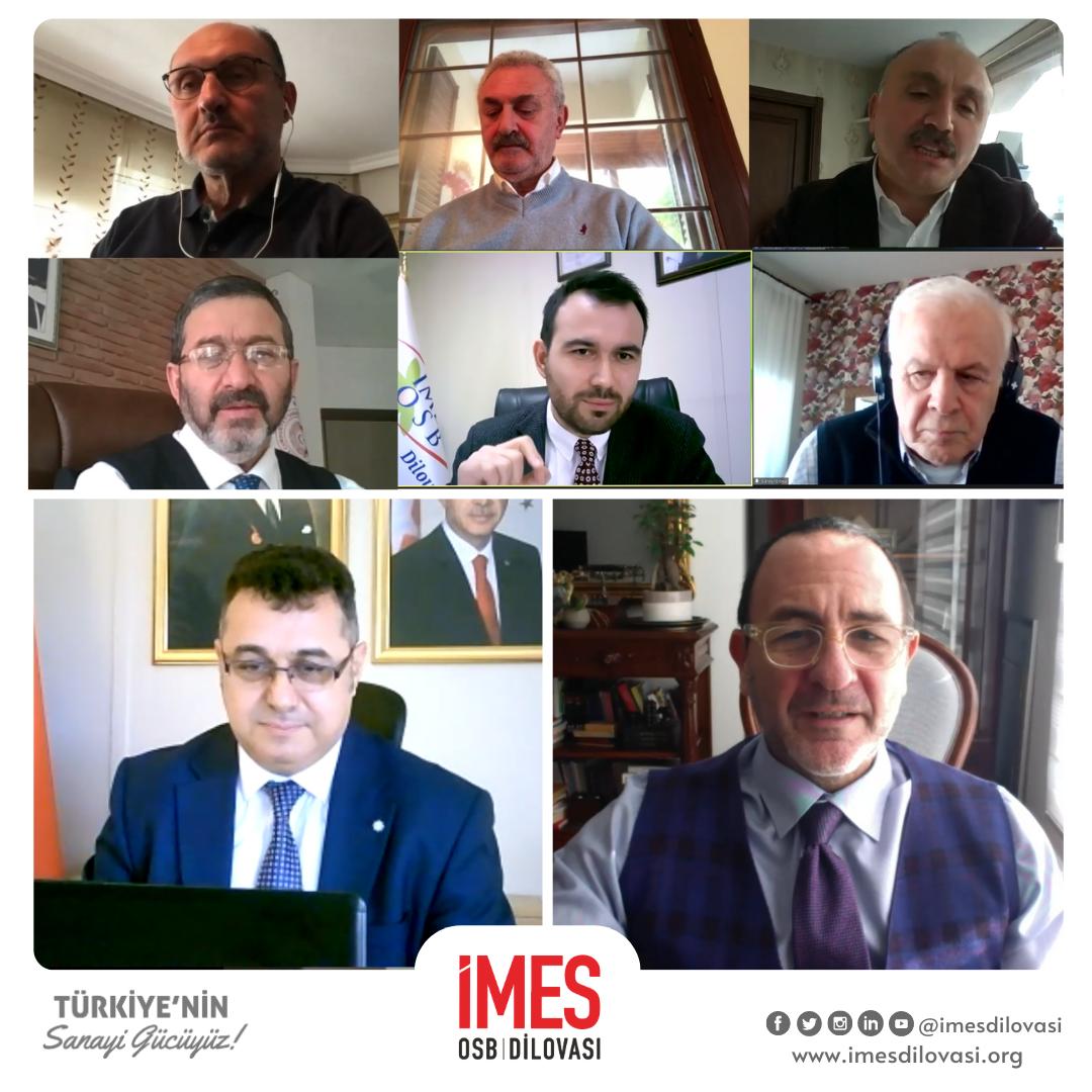 Ekonomist Prof. Dr. Emre ALKİN, Ekonomi Sohbetleri'nde Sanayicilerimizle Bir Araya Geldi