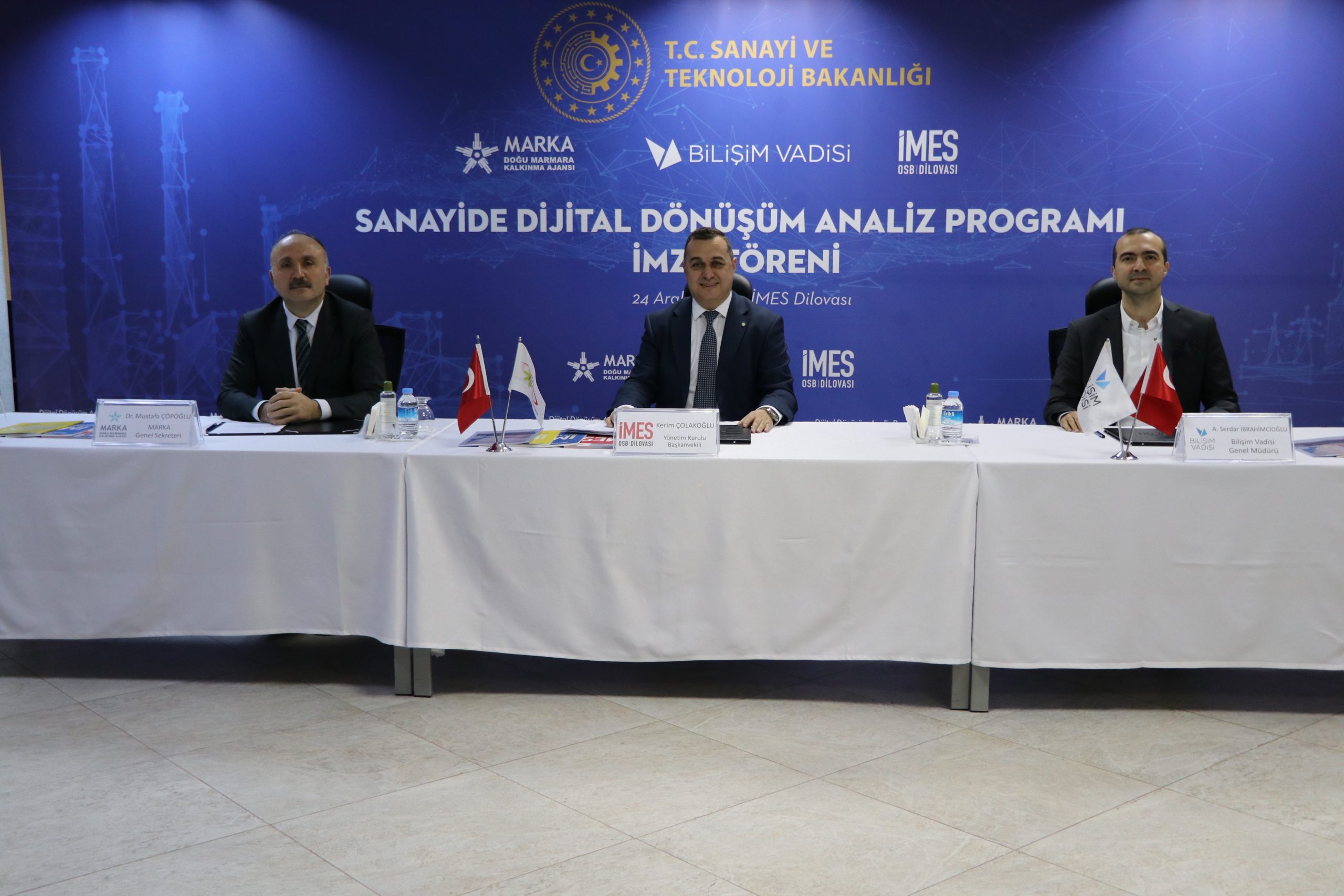 """""""Sanayide Dijital Dönüşüm Analiz Programı"""" İçin İmzalar Atıldı"""