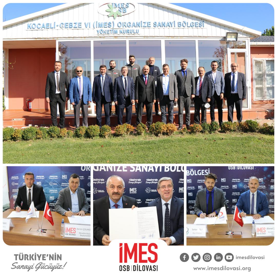 Gebze Belediyesi ve İlçedeki İki Lise İle İstihdam İşbirliği Protokolü İmzalandı